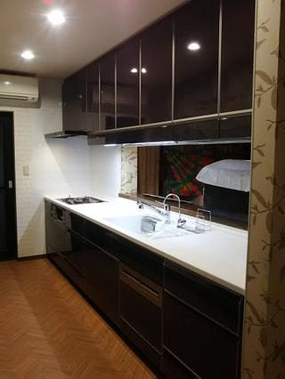 キッチン換気扇の照明取り換え
